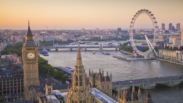London-View-of-River-Thames
