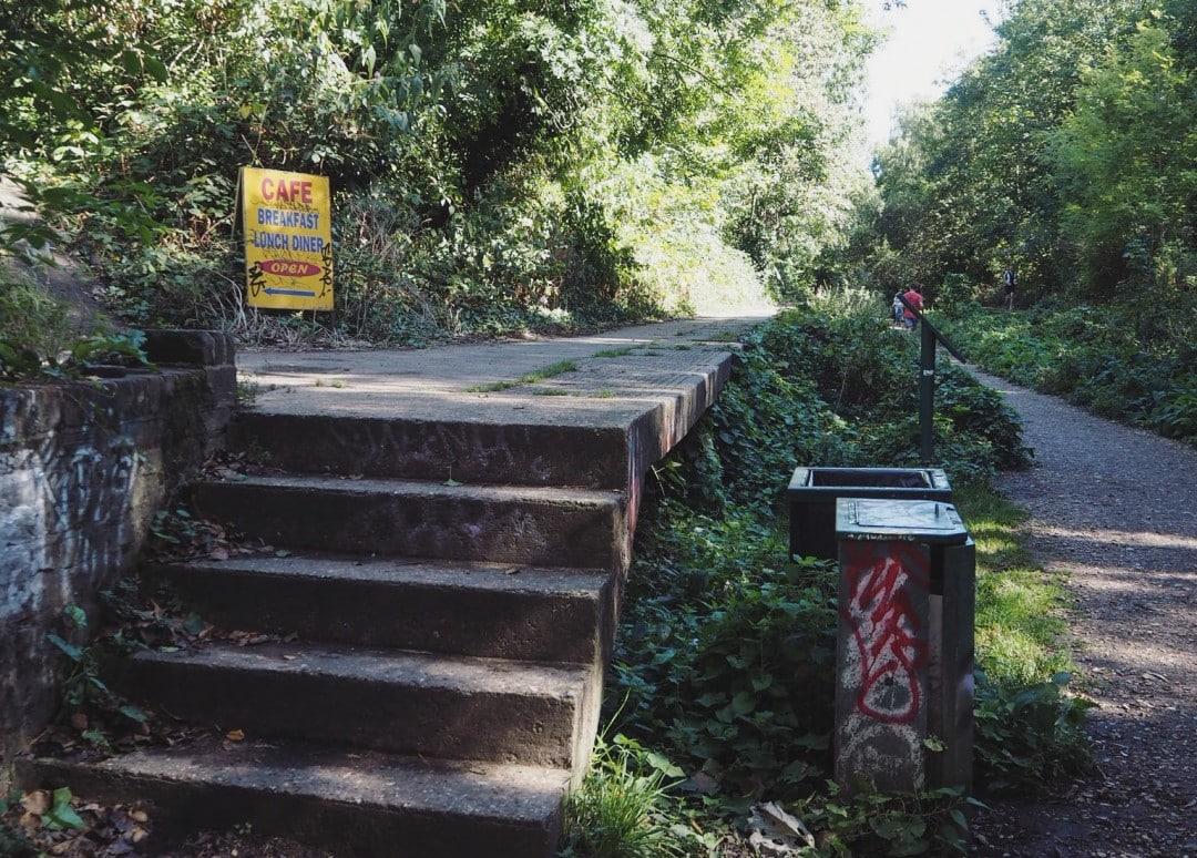 Parkland Walk Platform