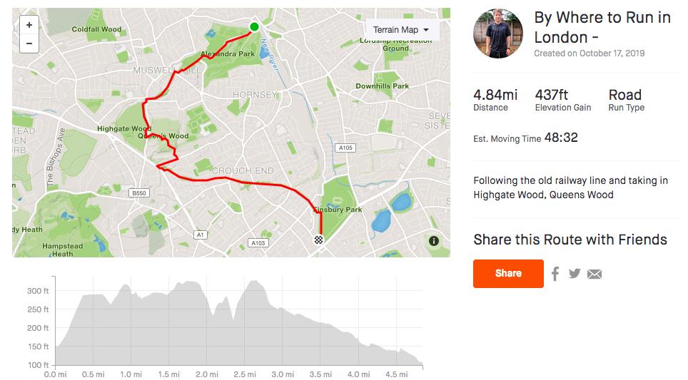 Parkland-Walk-Strava-Route-Where-to-run-in-London