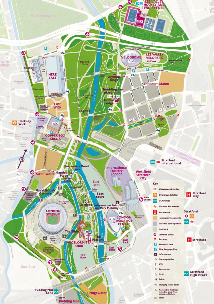 London-Olympic-Park-Map